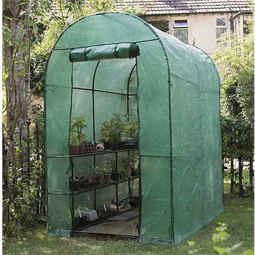Gardman Walk-In Greenhouse - W4ft x D6ft