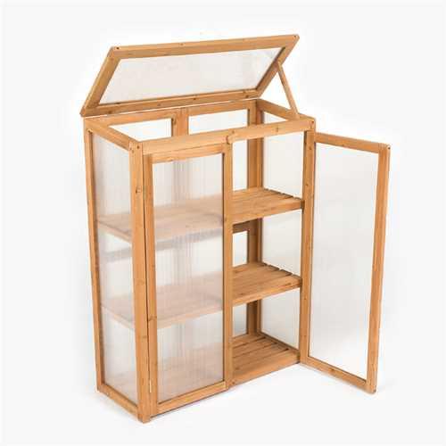Terra Lean-To Mini Greenhouse - W2.5ft x D1ft