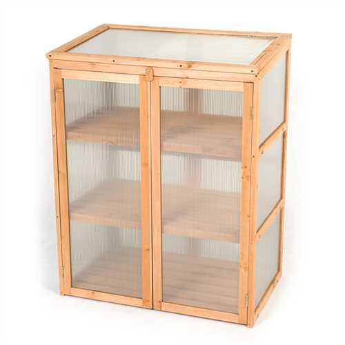 Terra Lean-To Mini Greenhouse - W2.5ft x D1.5ft