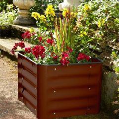 Image of Box Planter - Brown