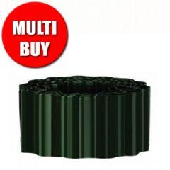 36.4m Gardman Durable Plastic Lawn Edging - H9cm