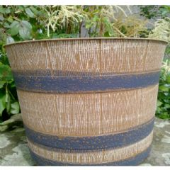 Whisky Barrel planter 32cm - 4 Pack
