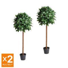 Image of Gardman Artificial Bay Tree - 2 Pack Multi Buy