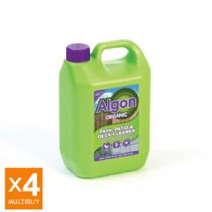 Image of Algon Organic Path and Patio Cleaner - 4 x 2.5 Litre Multi-Buy