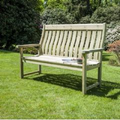 Image of Alexander Rose Farmers 3 Seater Bench