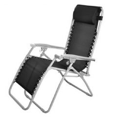 Greenfingers Poly-Weave Zero Gravity Reclining Chair