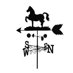 Garden Nation Horse Weathervane
