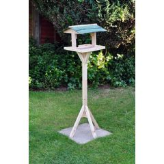 Image of Kingfisher Traditional Wooden Wild Bird Table