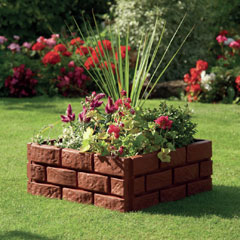 Greenhurst Brick Effect Garden Border 1.72m