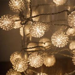Noma Ball LED Twinkle Lights - 40 Warm White