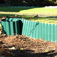 Gardman Durable Plastic Lawn Edging 9.1m x 0.09m