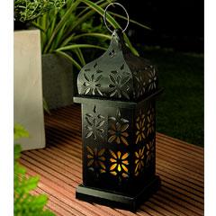 Gardman Solar Eastern Candle Lantern