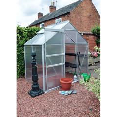 Kingfisher 4 x 6ft Aluminium Greenhouse