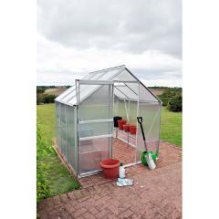 Kingfisher Aluminium Greenhouse  6 x 6ft