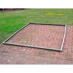 Kingfisher Aluminium Greenhouse Base Frame 4 x 6ft