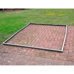 Kingfisher Aluminium Greenhouse Base Frame 6 x 6ft