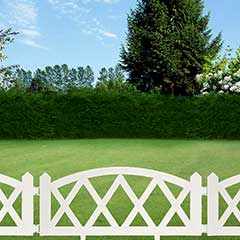 Greenfingers Garden Fence Cross Design