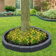 Stomp Block Rubber Tree Ring Edging