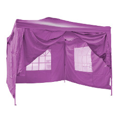 Ben Ross Pop Up Party Gazebo with Sides 2.5m