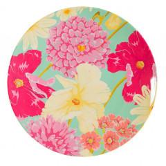 Navigate HotHouse Floral Melamine Dinner Plate