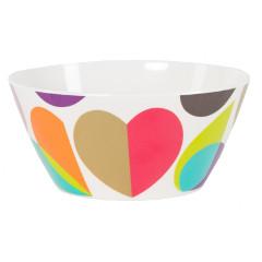 BrokenHearted Melamine Bowl
