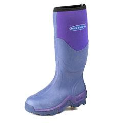 Muck Boots Ladies Greta Neoprene Wellingtons - Violet