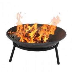 Terra Cast Iron Round Firebowl - 50cm