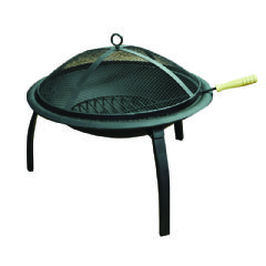 Image of Kingfisher Steel Fire Pit - 57cm Diameter