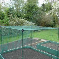 Gardenskill No Frills Crop Cage Kit - 1.5m x 1.5m x 1.35m with bird net 20mm