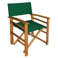 Ellister Alnwick FSC Acacia Directors Chair - Green