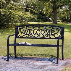 Ellister Stamford Welcome Bench 127cm - Black