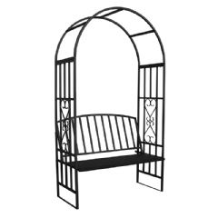 Greenfingers Regency Garden Bench Arch - 206cm Height