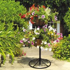 Gardman Georgian 2 Tier Flower Fountain - 86cm Height