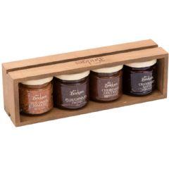 Mrs Bridges Festive Dining Wooden Gift Tray