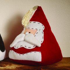 Christmas Character Doorstop - Santa