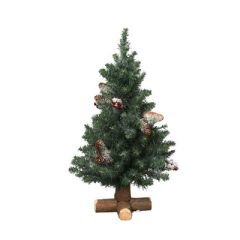 Image of Kaemingk Sherwood Frosted Mini Tree - 45cm