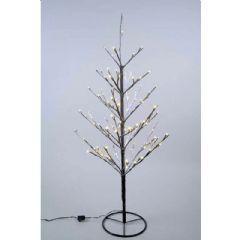 Kaemingk LED Tree With Snow - 90cm