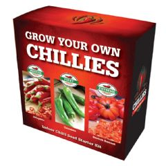 Grow Your Own Chilli Kit - Jalapeno Cayenne Scotch Bonnet