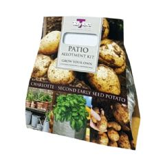 Patio Allotment Collection - Charlotte Second Early - 3 Seed Potatoes