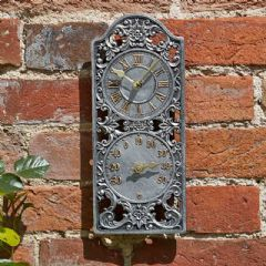 Smart Garden Westminster Wall Clock and Thermometer - 30cm Height