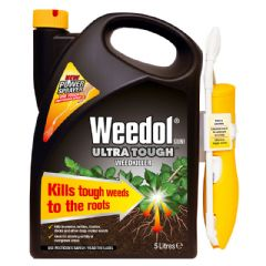 Weedol Ultra Tough Weedkiller with Power Sprayer - 5L