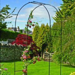 Round Garden Arch - 209cm Height