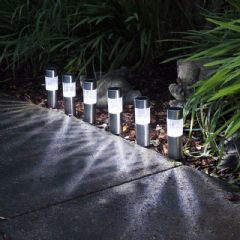 Kingfisher Solar Post Lights - 6 Pack