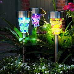 Cole and Bright Mosaic Border Lights - 6 Pack