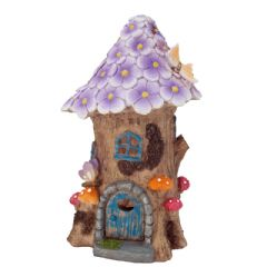 Cole and Bright Solar Flower Fairy House - 22cm Height
