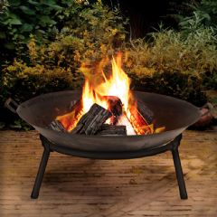 Image of Terra Fire Bowl - 60cm Diameter