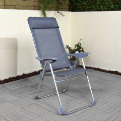 Greenfingers Aluminium Frame Relaxer - Grey