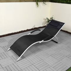 Ellister Poly-Weave Sunlounger