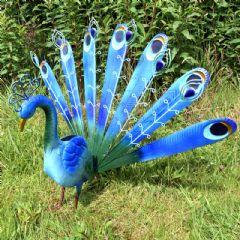 Greenfingers Metal Peacock Garden Ornament