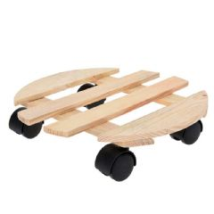 Greenfingers Wooden Plant Trolley